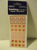 Finishing Touches Mini Heart Stickers
