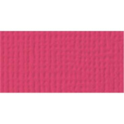 American Crafts Textured Cardstock-Rouge