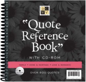 Quote Reference Book w/CD Rom