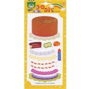 """Birthday Cake"" 3D Build-it"
