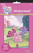 My Little Pony Stickerland Pad - 4 Page