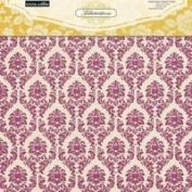 Teresa Collins Designs Fabrications Canvas Chipboard Album Cover