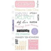 Stickopotamus Phrase Cafe Stickers-It's a Girl