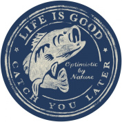 Life is good. Good Times 10cm Sticker - Catch You Later