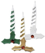 Christmas Candle Embellishments for Scrapbooking