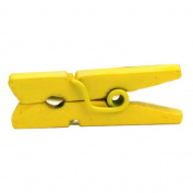 Mini Clothespins 2.5cm 25/Pkg-Yellow