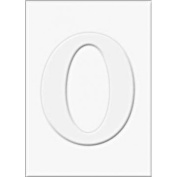 Die-cut Letter O and Letter O Frames for Stamping - PS474