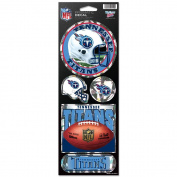 Tennessee Titans Prismatic Stickers