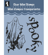 Inkadinkado Clear Mini Stamps, Spooky Ghosts