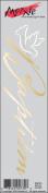Moxxie Faith Rub-Ons 5.1cm x 20cm -Baptism