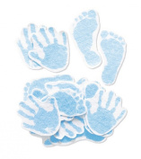 Jolee's By You-Blue Hand & Foot Prints