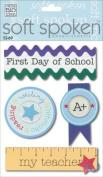 Me & My Big Ideas Soft Spoken 3 Dimensional Embellishments-First Day of School