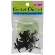 Eyelet Outlet Shape Brads-Wizard Or Witch Hat 12/Pkg