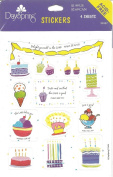 Birthday and Scripture Scrapbook Stickers