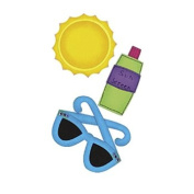Paper Bliss Adhesive Embellishments-Sunny Day