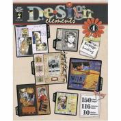 Hot Off The Press DESIGN ELEMENTS Scrapbooking Craft Book