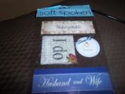 Wedding Theme Scrapbook Embellishment Stickers