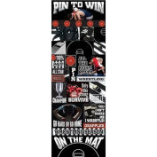 Reminisce Real Sports Wrestling Graphic Sticker Sheet