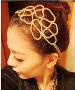 New Fashion Flower Alloy Headwear Headband