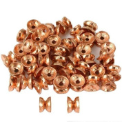 15g Hourglass Beads Copper Plated Parts 4.5mm Approx 45