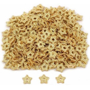 Star Bali Spacer Beads Gold Plated 5mm New Approx 290