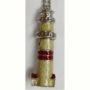Boston Lighthouse Pin or Pendant Necklace