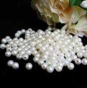 10 mm Ivory Pearls Faux Imitation Plastic Beads - 1 lb lots