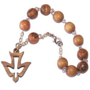 Chaplet Rosary and Bracelet with Dove pendant