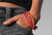 Zulugrass Bracelet or Necklace - Red
