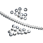 Spacer Sterling Silver Beads USA Made 925 Saucer 3.5mm