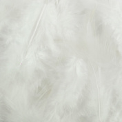 Touch of Nature 38051 Fluffy Feathers, 7 grammes, White
