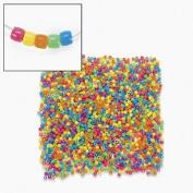 Bulk Plastic Neon Pony Bead Assortment