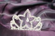 Beautiful Bridal Wedding Tiara Crown with Crystal Star DH15302