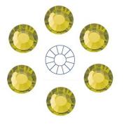 360pcs size ss20 (4.7mm) Olivine Preciosa MC 12-facet Iron-on ChatonRoses
