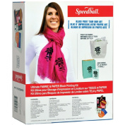 Speedball Ultimate Fabric & Paper Block Printing Kit