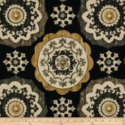 Swavelle/Mill Creek Isma Ebony Fabric
