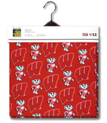 University of Wisconsin Fabric 2yds 140cm Wide UW Badgers 100% Cotton Sewing Material For Quilt Apparel or Projects 100% COTTON Sewing Material For Quilt Apparel or Projects- Top Rated Quality 22% more FABRIC than 110cm width