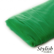 Kelly Green Tulle Fabric - 40 Yards Per Bolt
