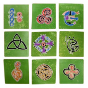 Authentic Cotton Batik Textile Art Packet Celtic