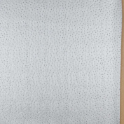 140cm G019 Silver, Emu Ostrich Faux Leather Vinyl By The Yard From Mitchell Faux Leathers