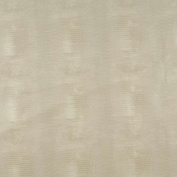 140cm G010 Ivory, Alligator Faux Leather Vinyl By The Yard From Mitchell Faux Leathers