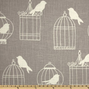 Duralee Home Birdcage Smoke Fabric