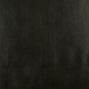 140cm G542 Black, Upholstery Grade Recycled Leather (Bonded Leather) By The Yard