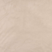 140cm Wide C058 Ivory, Microsuede Upholstery Grade Fabric By The Yard