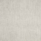 G372 White, Metallic Textured Upholstery Faux Leather By The Yard