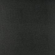 G360 Black, Matte Leather Grain Upholstery Faux Leather By The Yard