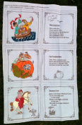 Janet McCaffery OLD MOTHER GOOSE NURSERY RHYMES Book Kit Quilt Sewing Craft Fabric RUB A DUB DUB, PETER PETER PUMPKIN EATER, & BANBURY CROSS