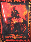 Star Wars DARTH VADER Fleece NO-SEW Throw Blanket