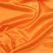Satin Fabric Orange 170cm Wide X 20 Yds Per Roll 100% Polyester