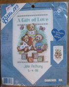 Dimensions Banners A Gift of Love Birth Record #72507